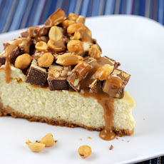 Snickers Caramel Cheesecake Cookies Recipe | Yummly