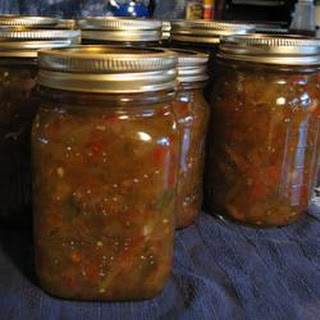 Green Tomato Relish With Cinnamon Recipes
