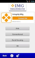 Screenshot of Integrity Mortgage Group