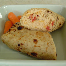 Low-Calorie Chicken 'salad' Wraps