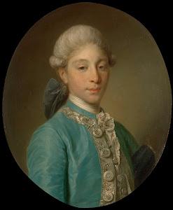 RIJKS: Jean-Baptiste Greuze: Portrait of the Marquis de Saint-Paul 1760