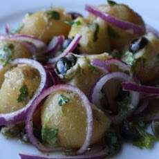 Traditional Greek Potato Salad (Patatosalata)