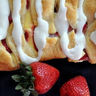 Easy Strawberry Danish