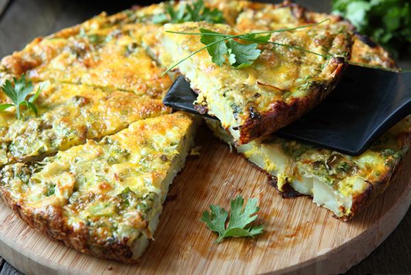 Crustless Asparagus Quiche Recept | Yummly