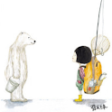 Girl with Polar Bear_SQNotePad icon