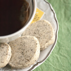 Earl Grey Icebox Cookies