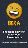 Screenshot of BEKA - śmieszne dźwięki SMS PL