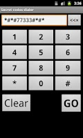 Screenshot of Secret Codes Dialer