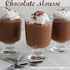 2 Ingredient Chocolate Mousse made with with Tofu