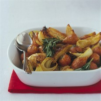 Roasted Winter Roots with Rosemary