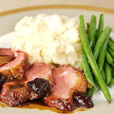 Duck Breasts with Brandied Cherry Sauce
