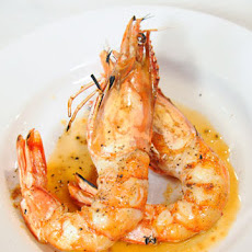 Shrimp Flambeed with Pastis