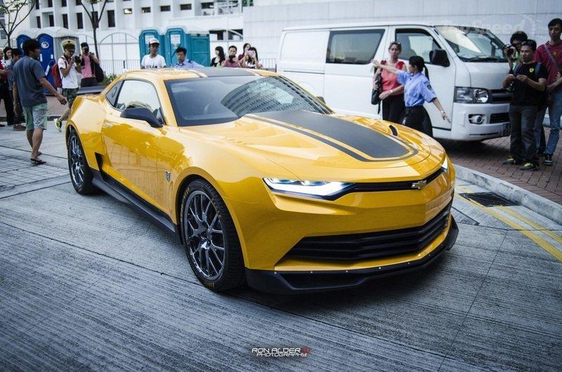 Inside Look Chevrolet Transformers 4 BumbleBee Camaro  Carhoots