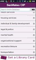 Screenshot of San Mateo County Info