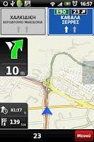 Screenshot of NDrive for Xperia™