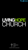 Screenshot of Living Hope Church App