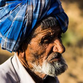 End of Journey by Avanish Dureha - People Portraits of Men ( cowherd, shepherd, gujrat, dureha@gmail.com, india )