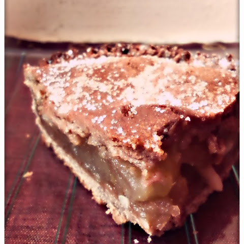 Gluten-free Chestnut Flour Apple Pie