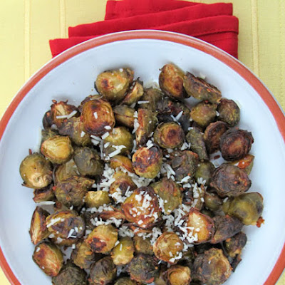 Lemon Parmesan Roasted Brussels Sprouts