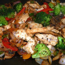 Colourful Chicken Stir-Fry