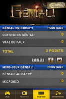 Screenshot of GÉNIAL! EN DIRECT
