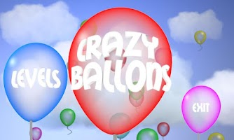 Screenshot of Crazy balloons