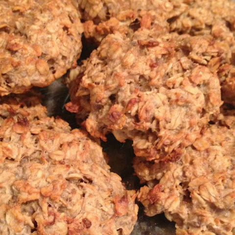 Healthy Oatmeal Peanut Butter Cookies