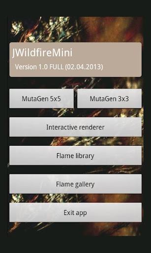 JWildfireMini - screenshot