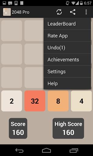 2048 Pro - screenshot