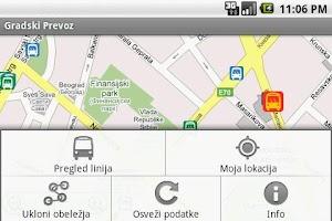 Screenshot of Gradski Prevoz