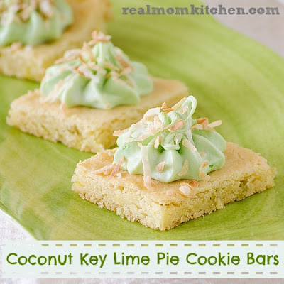 Pink Lemonade and Key Lime Pie Cookie Bars