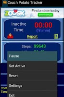 Screenshot of Couch Potato Tracker