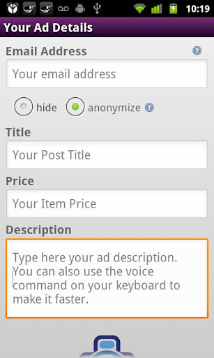 sell-on-craigslist for android screenshot