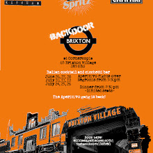 Backdoor Brixton (in collaboration with Aperol Spritz UK)