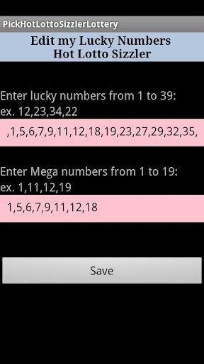 【免費娛樂App】Pick Lottery Hot Lotto Sizzler-APP點子
