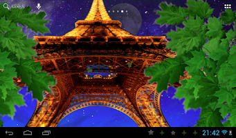 Screenshot of Eiffel tower