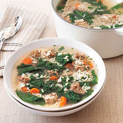 Turkey Soup with Rice