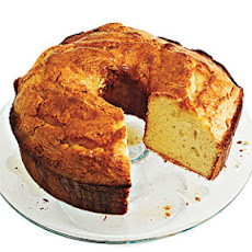 Canola Oil Pound Cake with Browned Butter Glaze
