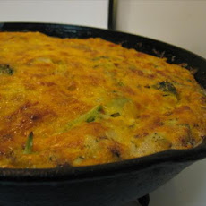 Artichoke and Broccoli Frittata / Crustless Quiche