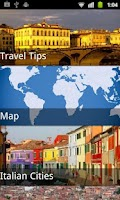 Screenshot of Rome Travel Guide