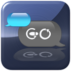 Cyanometic for GO SMS PRO icon
