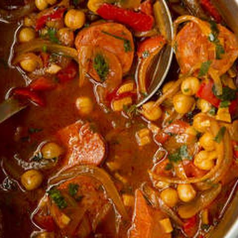 Chorizo, Tomato, Lentil and Kale Soup Recipe | Yummly