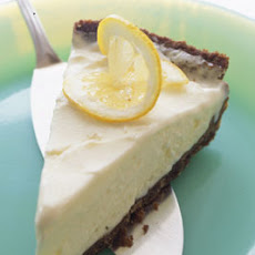 Frozen Lemon Gingersnap Pie