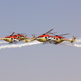 Mere Clashing... by Sesha Giri - Transportation Helicopters (  )