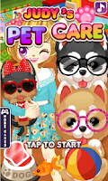 Screenshot of Judy's Pet Care - Girls Game