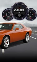 Screenshot of Dodge Challenger SR Clock LWP