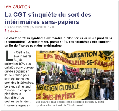 Illegal Temps Upset French Labor Unions
