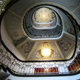 Art Nouveau stairs by João Ascenso - Buildings & Architecture Other Interior ( stairs, art nouveau )
