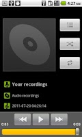 Screenshot of Easy Sound Recorder
