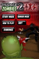 Screenshot of Shuriken Zombies 2(LITE)